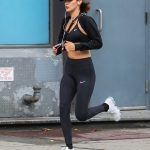 Bella Hadid Out for a Jog in NYC 07/24/2017-4