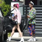 Bella Thorne Was Seen With Max Ehrich Out in LA 07/23/2017-4