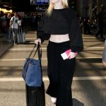 Elle Fanning Arrives at LAX Airport in LA 06/30/2017-3