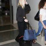 Elle Fanning Arrives at LAX Airport in LA 06/30/2017-5