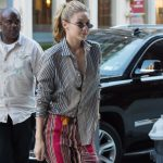 Gigi Hadid Arrives Back at Her Apartment in New York City 07/30/2017-5