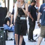 Gigi Hadid Does a Photo Shoot for Juice Press in Tribeca in NYC 07/30/2017-2