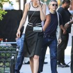 Gigi Hadid Does a Photo Shoot for Juice Press in Tribeca in NYC 07/30/2017-3