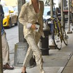 Gigi Hadid Wears a Gucci Slippers in New York City 07/17/2017-3