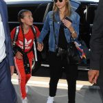 Jessica Alba Arrives at LAX Airport in Los Angeles 07/10/2017-5