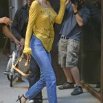 Kendall Jenner Arrives at an Office Building in NYC 07/26/2017-2