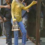 Kendall Jenner Arrives at an Office Building in NYC 07/26/2017-4