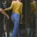 Kendall Jenner Arrives at an Office Building in NYC 07/26/2017-5