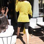 Kendall Jenner Arrives at L'avenue Restaurant in Paris 07/03/2017-3