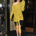 Kendall Jenner Arrives at L'avenue Restaurant in Paris 07/03/2017-4
