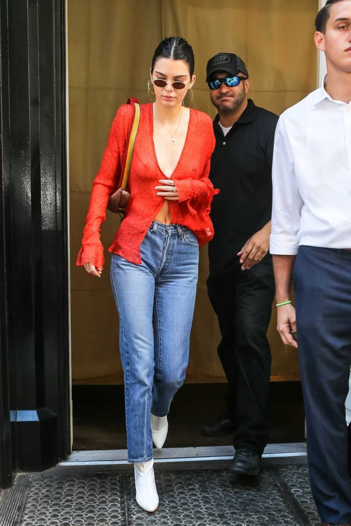 Kendall Jenner Steps Out in NYC 07/30/2017-1