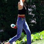 Kendall Jenner Visits a Friend in Beverly Hills 07/14/2017-2