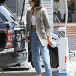 Kendall Jenner Was Seen at the Gas Station in Beverly Hills 07/15/2017-3