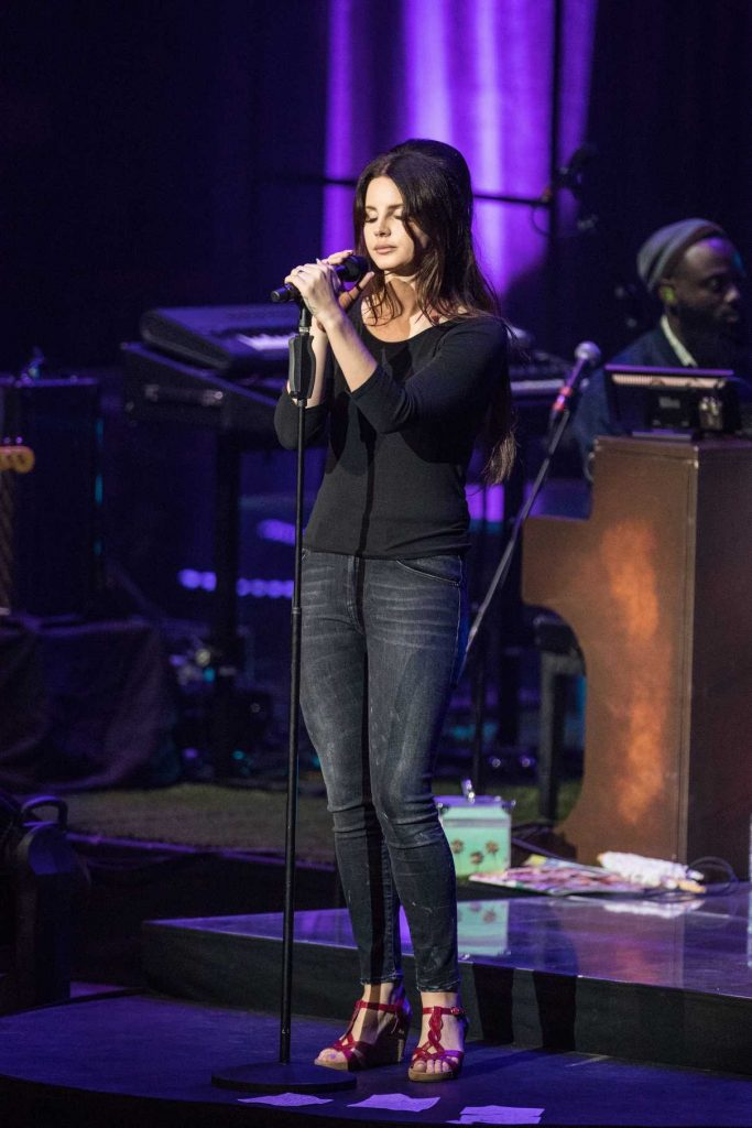 Lana Del Rey Performs at O2 Academy Brixton in London 07/24/2017-1