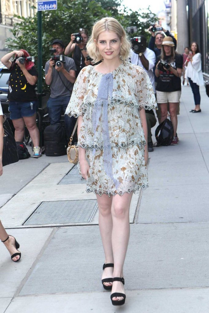 Lucy Boynton Arrives at AOL Build Speaker Series in New York 06/29/2017-1