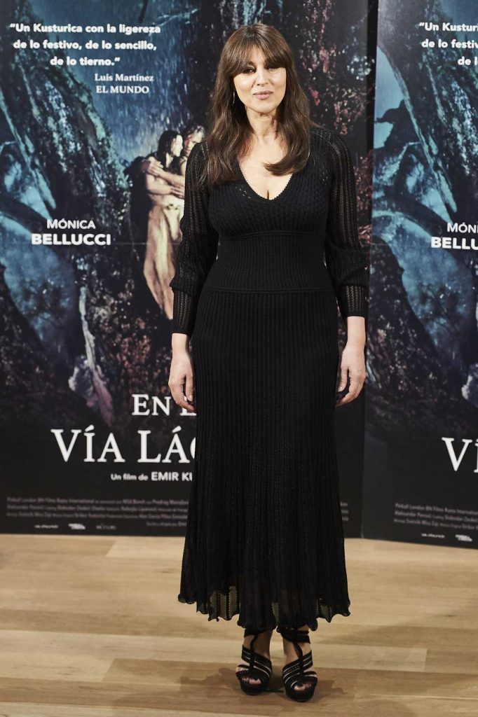Monica Bellucci at On The Milky Road Photocall at Urso Hotel in Madrid 06/29/2017-1