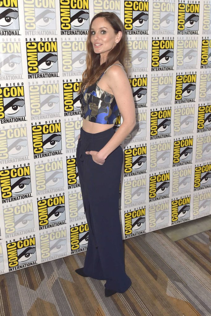 Sarah Wayne Callies at the Colony Press Line During the San Diego Comic-Con International 07/20/2017-1