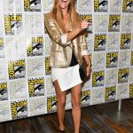 Tricia Helfer at the Battlestar Galactica Press Line During the San Diego Comic-Con International 07/20/2017-2