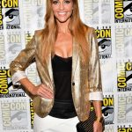 Tricia Helfer at the Battlestar Galactica Press Line During the San Diego Comic-Con International 07/20/2017-4