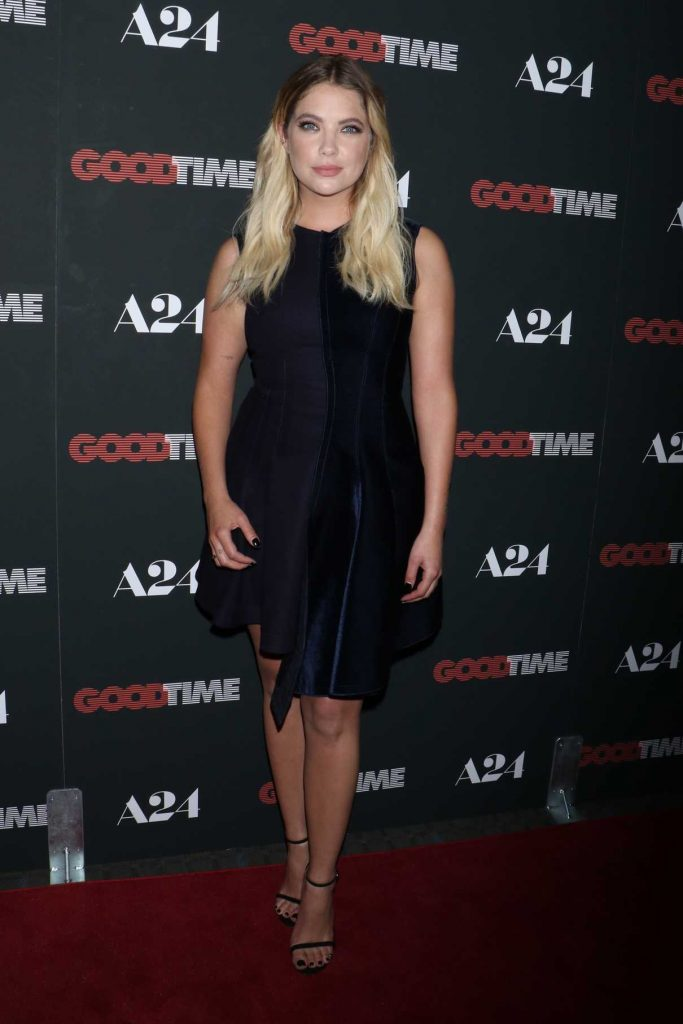 Ashley Benson at Good Time Premiere in New York 08/08/2017-1