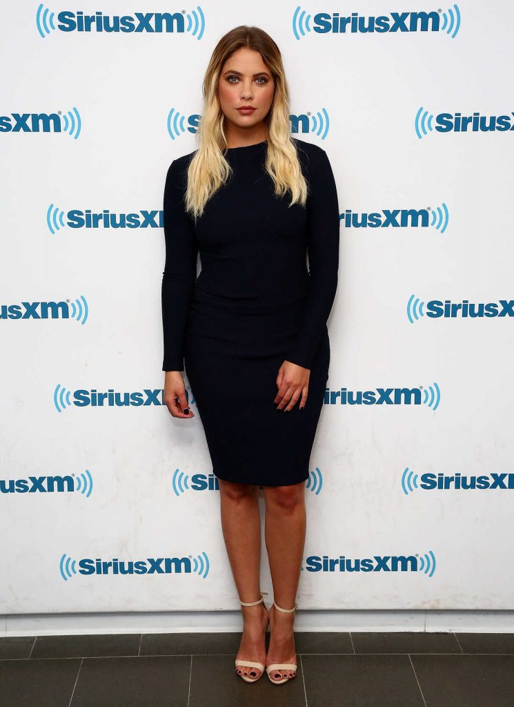 Ashley Benson at SiriusXM Studios in NYC 08/02/2017-1