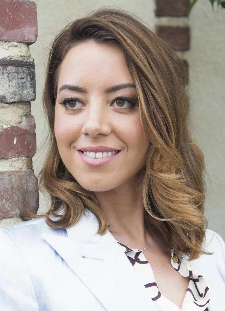 Aubrey Plaza at Ingrid Goes West Press Conference in Hollywood 08/10/2017-5