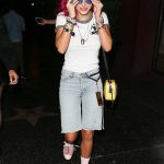 Bella Thorne Arrives at the Avalon Nightclub in West Hollywood With Her DJ Sister Dani 08/11/2017-2