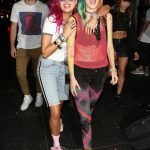 Bella Thorne Arrives at the Avalon Nightclub in West Hollywood With Her DJ Sister Dani 08/11/2017-3