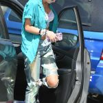 Bella Thorne Arrives to a Studio in Los Angeles 08/17/2017-2