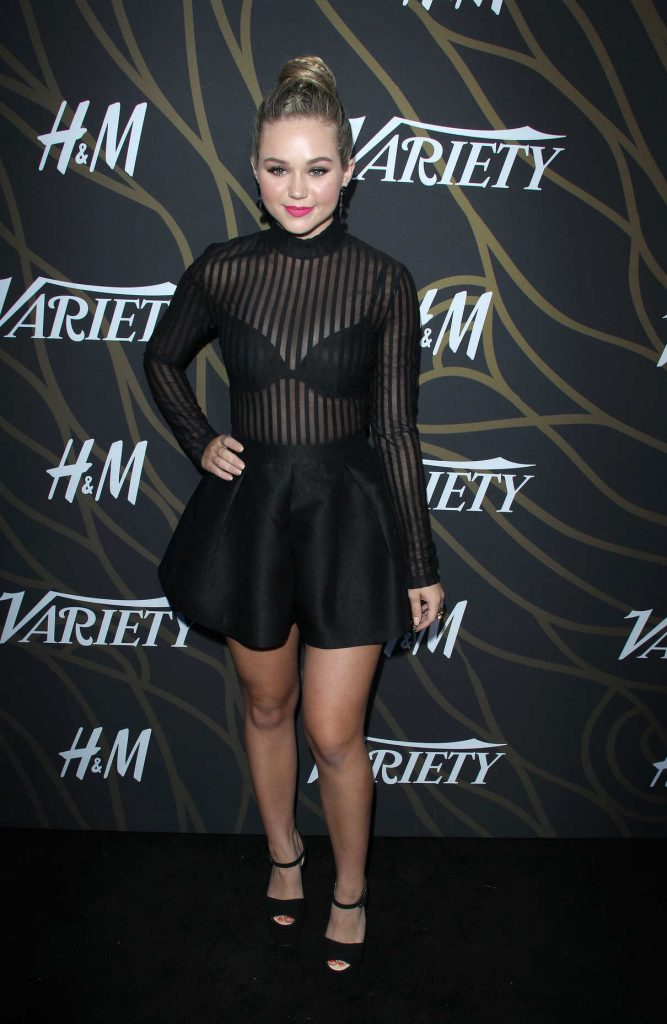 Brec Bassinger at Variety Power of Young Hollywood in Los Angeles 08/08/2017-1