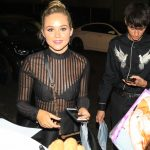 Brec Bassinger Leaves Tao Restaurant in Hollywood 08/08/2017-4