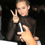 Brec Bassinger Leaves Tao Restaurant in Hollywood 08/08/2017-5