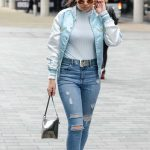 Charli XCX Leaves BBC Breakfast Studio at Media City in Manchester 08/01/2017-3