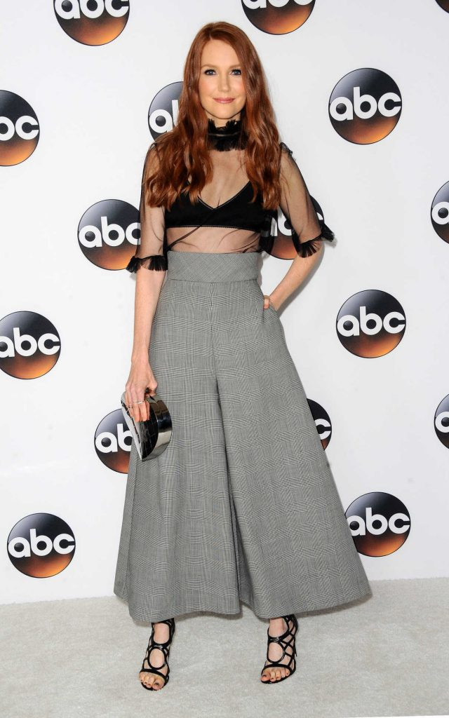 Darby Stanchfield at Disney ABC TCA Summer Press Tour in Beverly Hills 08/06/2017-1