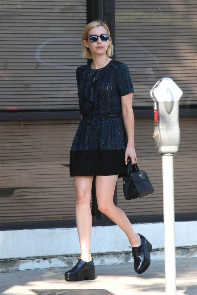 Emma Roberts Leaves Joan's on Third in Studio City 08/25/2017-1