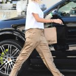 Hailey Baldwin Stops by the M Cafe in West Hollywood 08/04/2017-3