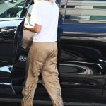 Hailey Baldwin Stops by the M Cafe in West Hollywood 08/04/2017-5