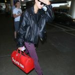 Hailey Baldwin Was Seen at LAX Airport in LA 08/03/2017-3