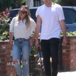 Hilary Duff Was Seen With Her Boyfriend Ely Sandvik Out in LA 08/20/2017-2