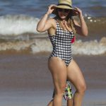 Hilary Duff Wears a Swimsuit at the Beach in Maui 08/02/2017-3