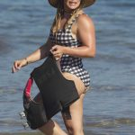 Hilary Duff Wears a Swimsuit at the Beach in Maui 08/02/2017-5