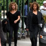 Jennifer Lopez on the Set of Shades of Blue in NYC 08/11/2017-2