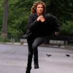 Jennifer Lopez on the Set of Shades of Blue in NYC 08/11/2017-3