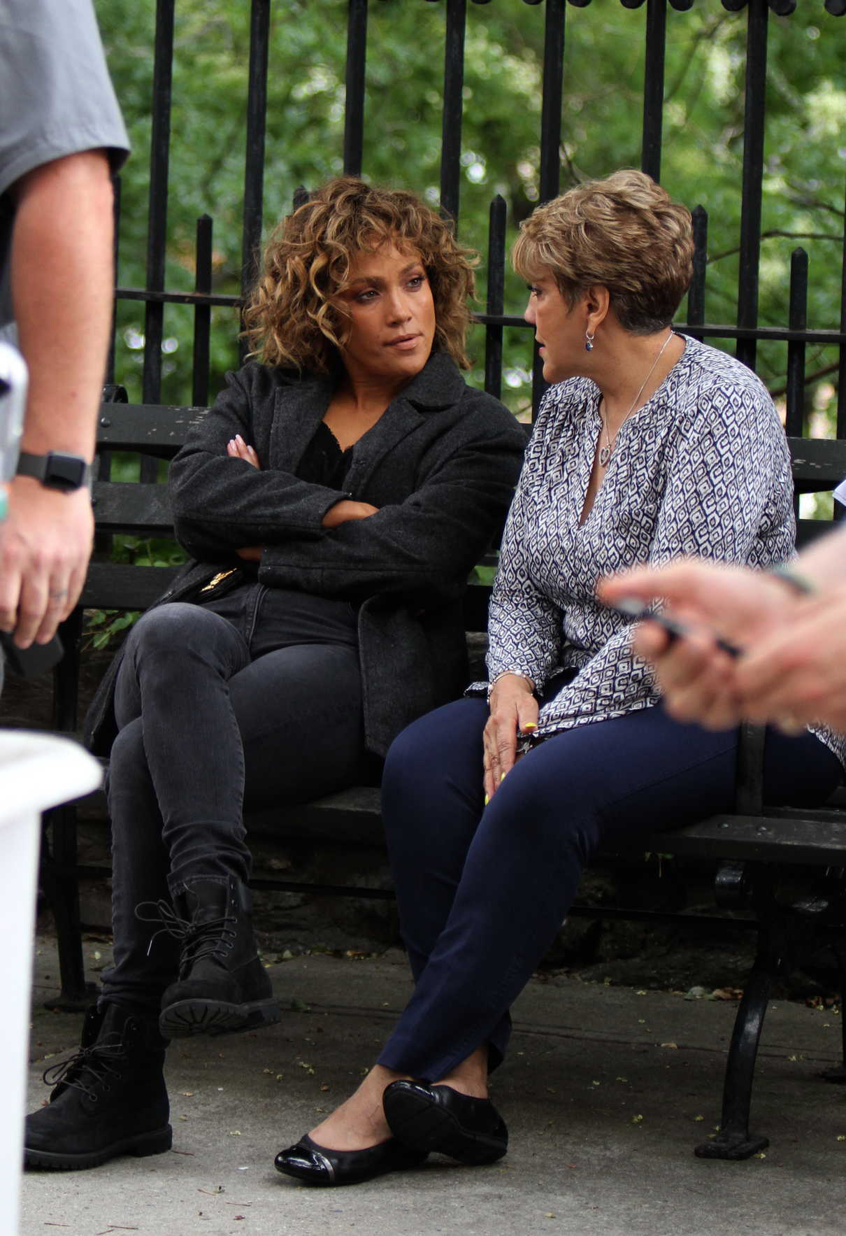 Jennifer Lopez on the Set of Shades of Blue in NYC 08/11/2017-5