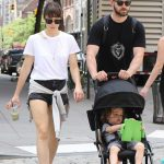 Jessica Biel and Justin Timberlake Go for a Walk in Tribeca, New York 08/19/2017-3