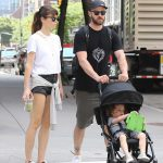 Jessica Biel and Justin Timberlake Go for a Walk in Tribeca, New York 08/19/2017-5