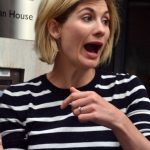 Jodie Whittaker Arrives at the BBC Radio Studios in London 08/12/2017-5
