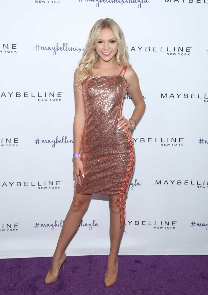 Jordyn Jones at Maybelline's Los Angeles Influencer Launch Event in West Hollywood 08/10/2017-1