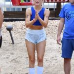 Julianne Hough at a Friend's Birthday Party Weekend in Big Bear Lake 08/06/2017-2