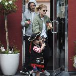 Kate Mara Was Spotted at LA Mill Coffee With Jamie Bell and His Son in LA 08/15/2017-2